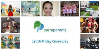 ParraParents 1st Birthday Giveaway