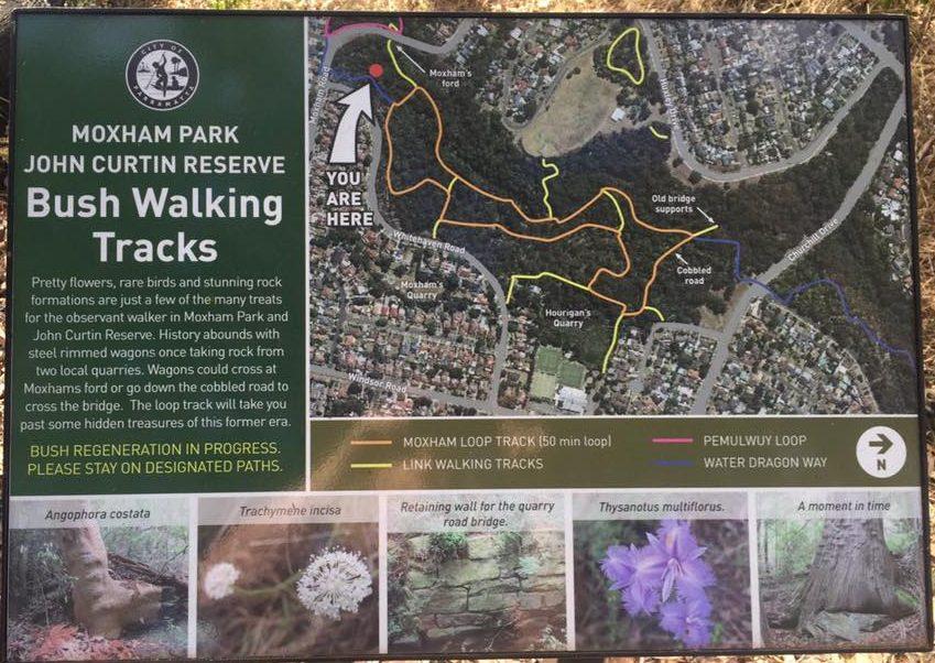 John Curtin Reserve Moxham Park