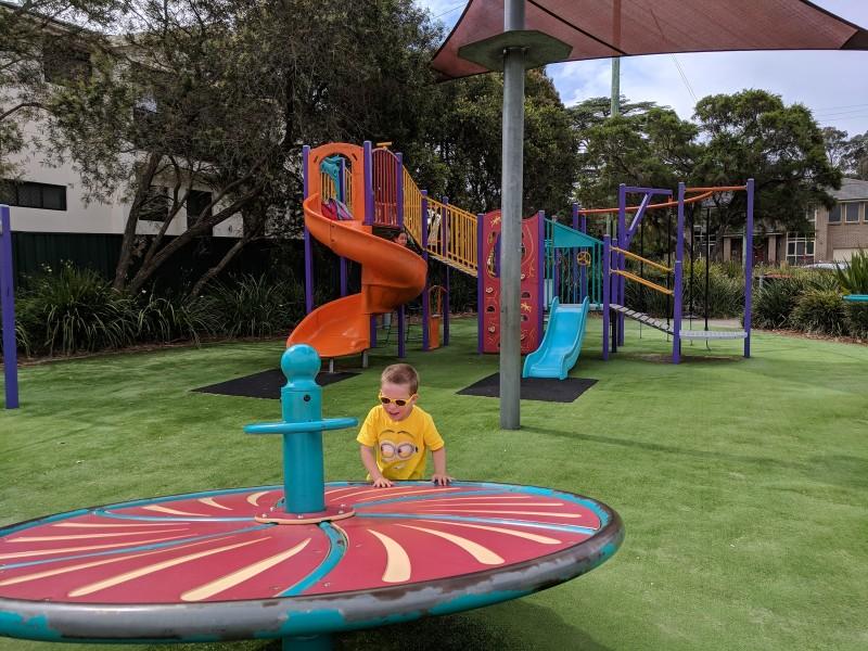 Frank Hayes Playground Wentworthville