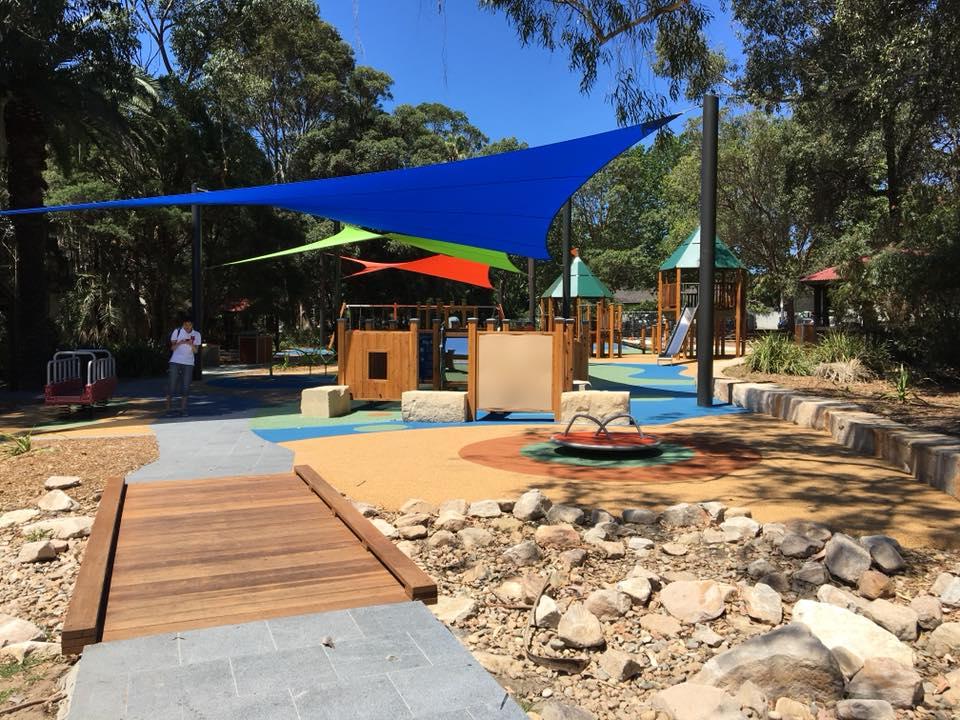 Strathfield Park find a playground