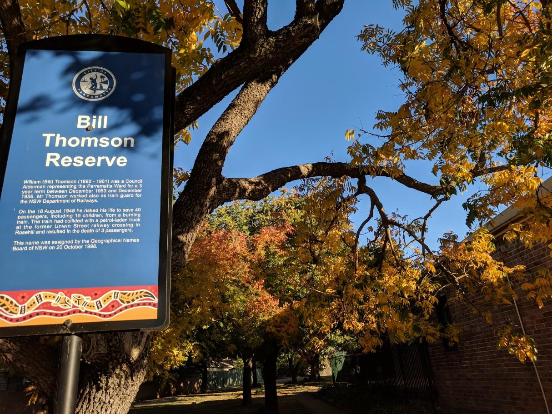 Bill Thomson Reserve