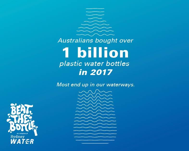 Beat the bottle Parramatta River Foreshore