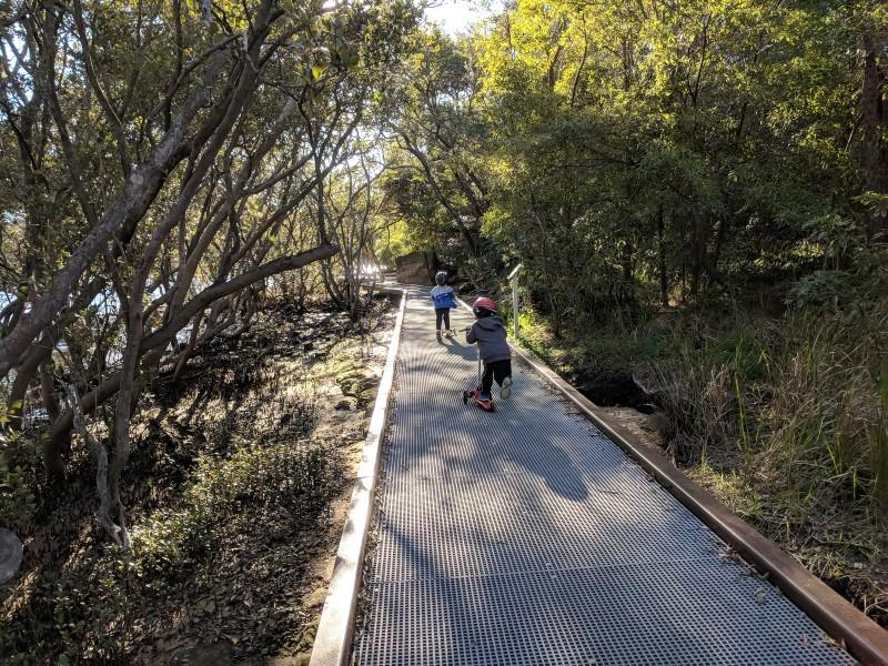 Glades Bay Park Wulaba Track