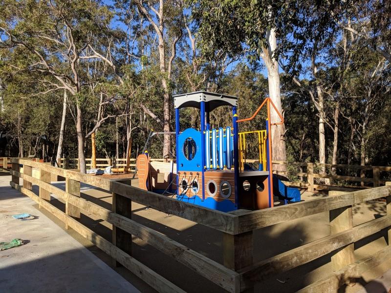 Hunts Creek Reserve East playground Carlingford