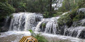 Hunts Creek Reserve Carlingford waterfall Balaka Falls