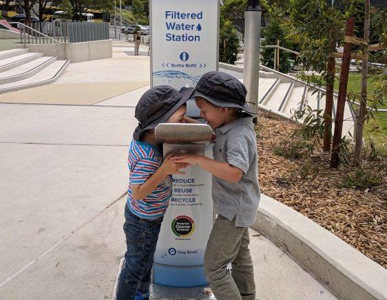 Water Refill Stations City of Parramatta