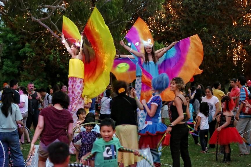 Circus Comes to Town Sydney Festival Parramatta