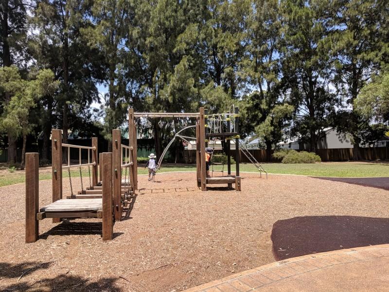Curry Reserve water playground camden