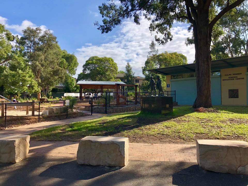 Rhodes Park 5 Senses Garden Concord