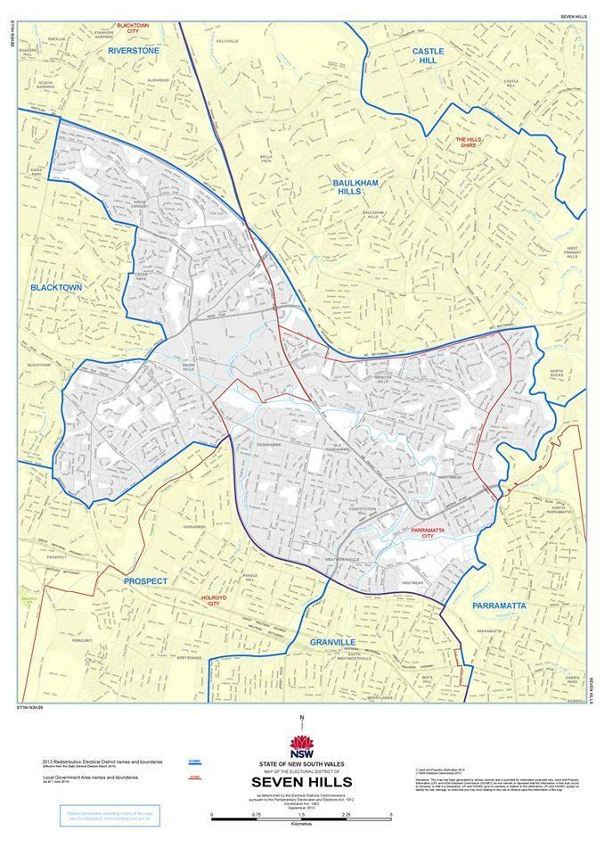 Seven Hills electorate
