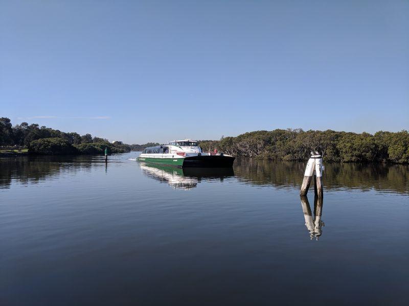 Rydalmere Ferry Wharf Parramatta River