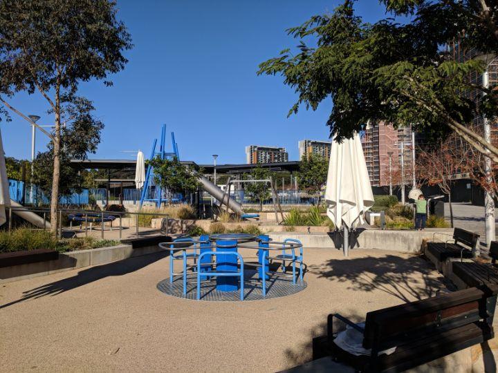 Lachlan's Line Park Macquarie Park