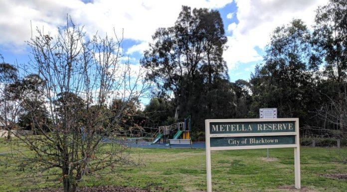 Metella Reserve Toongabbie