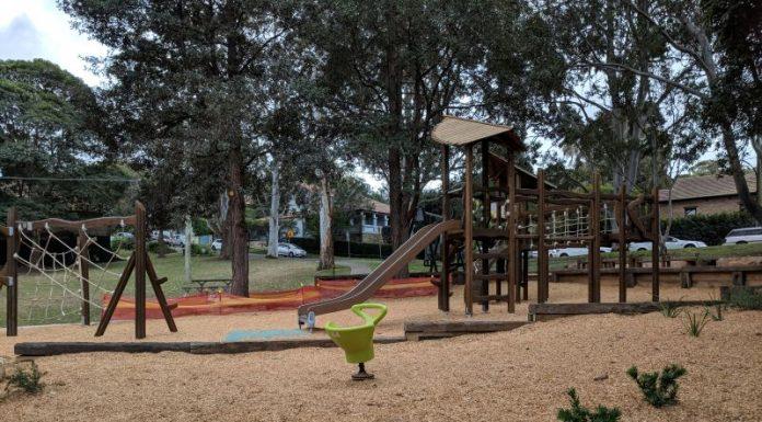Kimberley Playground Lane Cove