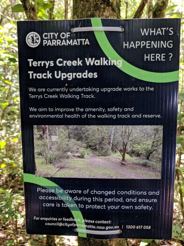 Terrys Creek Walk Epping