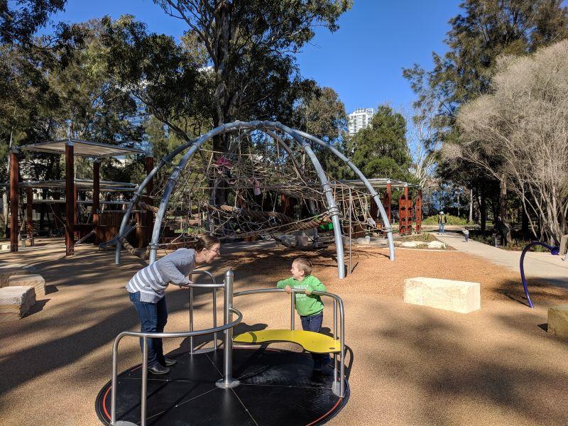 Paperbark Playground Parramatta Park