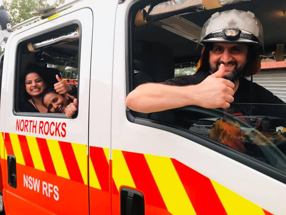 Carlingford Family Fun Day RFS North Rocks Brigade Fire truck