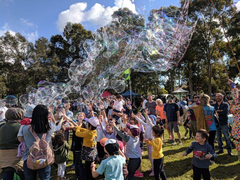 Ermington Family Fun Day George Kendall Riverside Park