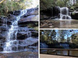 Kid friendly local waterfalls