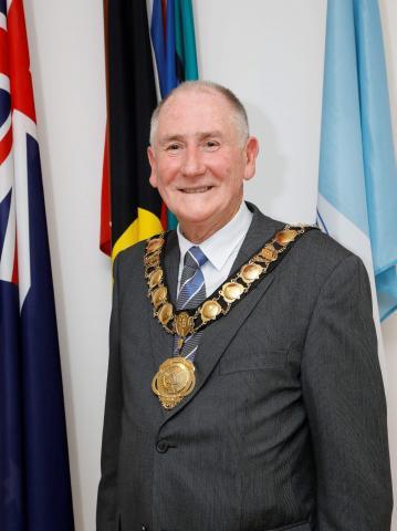 Lord Mayor Bob Dwyer