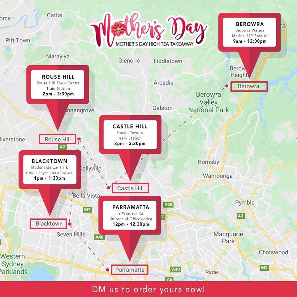 WIN Mother's Day High Tea Hamper Glenorie Bakery