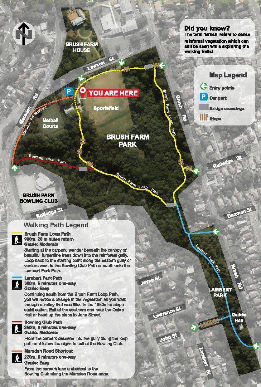 Bush Riddles Brush Farm Park Loop Path Eastwood