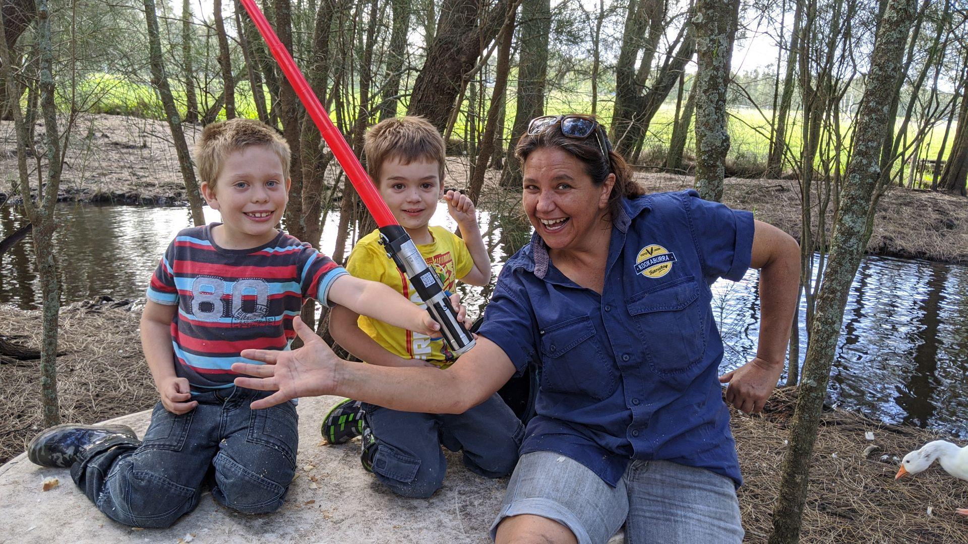 Kookaburra Farmstay family holiday port stephens