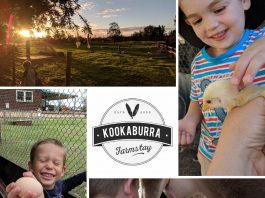 Family Holiday Kookaburra Farmstay competition