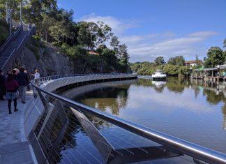 Escarpment Boardwalk Parramatta Parramatta Valley Cycleway Parramatta River Walk