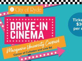 Drive-In Cinema Macquarie University Carpark